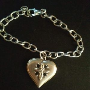Bradford Exchange Blessed Daughter 925 Bracelet